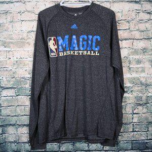 Adidas Orlando Magic NBA Gray Sweatshirt Medium